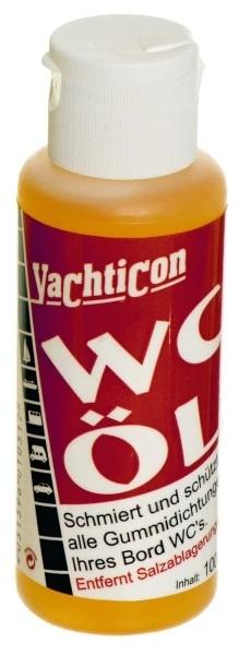 Yachticon WC Öl 100 ml f. die Pump - Toiletten Schmierung