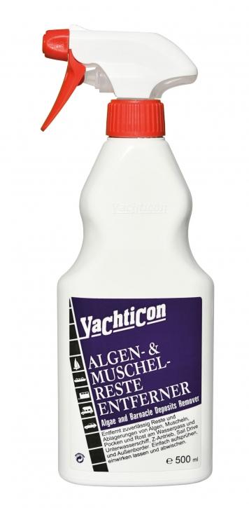 Yachticon Algen und Muschelresteentferner, 500 ml Sprühflasche
