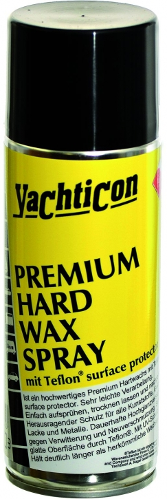 Premium Hard Wax Spray mit Teflon® surface protector , 400 ml