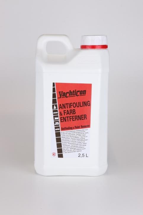 Yachticon Antifouling u. Farb Entferner , 2,5 Liter