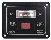 Batterietestschalter für 2 Batterien ,