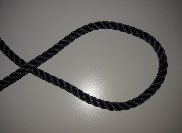 LIROS Lirolen-Tauwerk , schwimmfähig , 16 mm , marine