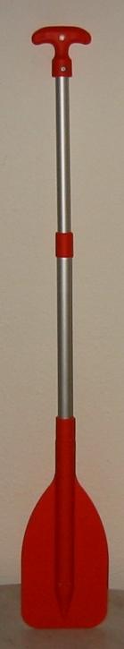 Teleskop Paddel , aus Aluminium und Kunststoff