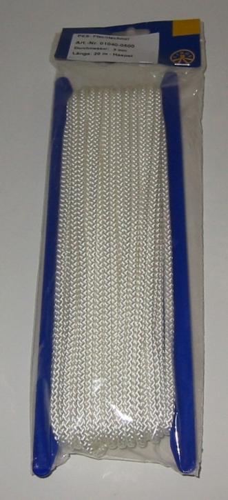 Liros Vielzweckleine , Polyester , 8 - fach geflochten , 3 mm x 20 mtr.
