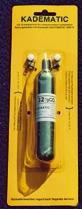 Kadematic Reserveset 63 gr. CO² mit Tabletten und Pins