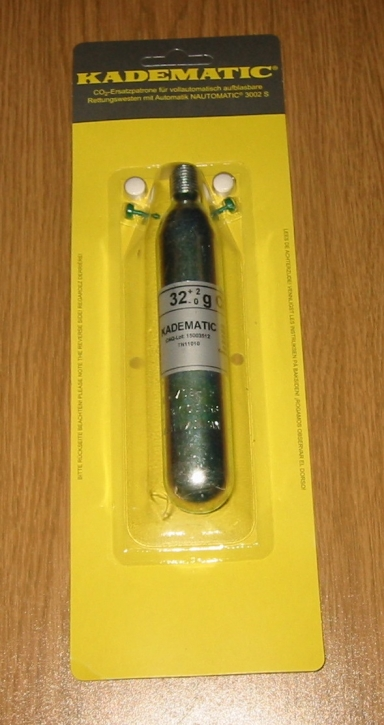 Kadematic Reserveset 32 gr. CO² mit Tabletten und Pins
