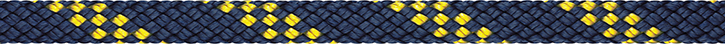 Liros Handy Elastic , 8 mm , Bruchlast : 1600 daN , marine - gelb
