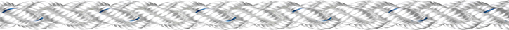 Liros Squareline , Polyester , 10 mm , weiss