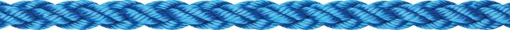 LIROS Squareline - PP , schwimmfähig , 12 mm , blau , BRL 2100daN