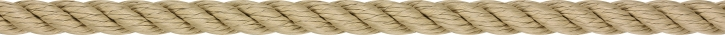 LIROS Lirolen-Tauwerk , schwimmfähig , 8 mm , hanffarbig