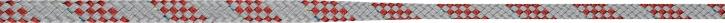 LIROS Taper Pro , silber-rot , 9 auf 6 mm , 30 mtr.