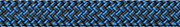 LIROS Racer Vision  02027  stahlblau - blau 8mm BRL 4200 daN