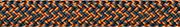 LIROS Racer Vision  02027  stahlblau - orange 8mm BRL 4200 daN