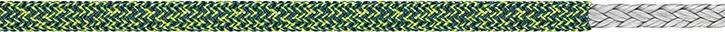 LIROS Racer Vision  02027  stahlblau - leuchtgelb 8mm BRL 4200 daN