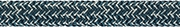 LIROS Racer Vision  02027  stahlblau - silber 8mm BRL 4200 daN