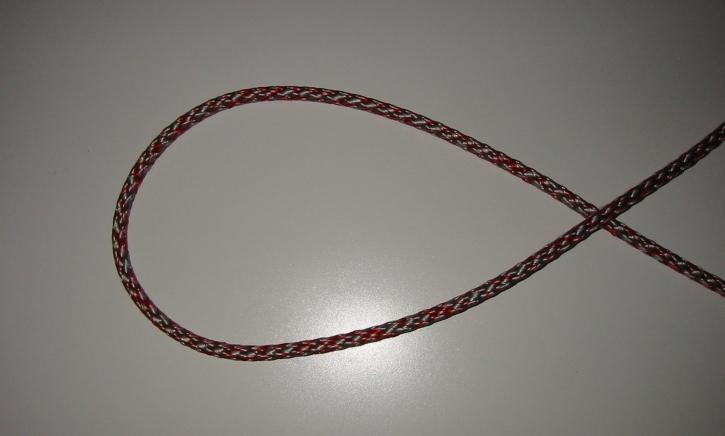 LIROS DynaSoft 02055 grau - rot 4mm BRL 500 daN