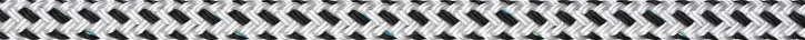 Liros Porto , 12 mm , weiß / schwarz , Bruchlast : 2900 daN