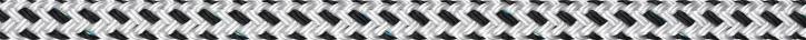 Liros Porto , 16 mm , weiß / schwarz , Bruchlast : 4900 daN