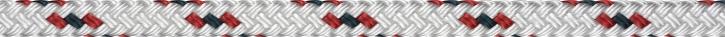 LIROS Allround , 8 mm , BRL 1400 daN , weiß / rot