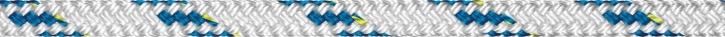 Liros Top Cruising Schot , 8 mm , weiß KF blau , BRL : 1650 daN