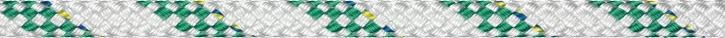 Liros Herkules , 6 mm , weiß KF grün , Bruchlast : 800 daN