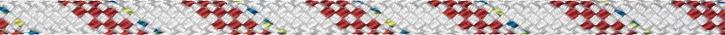 Liros Herkules , 8 mm , weiß KF rot , Bruchlast :1600 daN