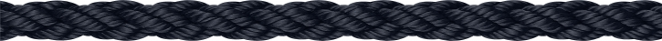 Liros Squareline , Polyester , 12 mm , schwarz , BRL 2400 daN