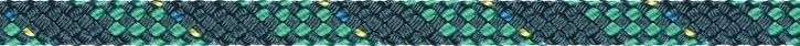 Liros Regatta 2000, 6 mm , BRL : 2200 daN , Stahlblau-Grün