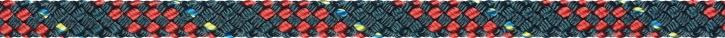 Liros Regatta 2000, 6 mm , BRL : 2200 daN , Stahlblau-Rot