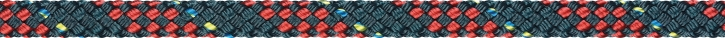 Liros Regatta 2000, 8 mm , BRL : 3800 daN , stahlblau - rot
