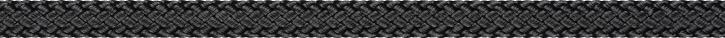 Liros Regatta 2000, 6 mm , BRL : 2200 daN , schwarz OKF