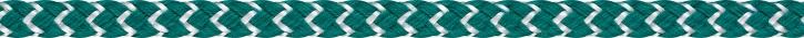 LIROS Spi  Dyneema Spinnakerschot 10mm BRL 1900 daN grün - weiss