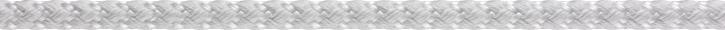 LIROS Spi  Dyneema Spinnakerschot 10mm BRL 1900 daN weiss oKF