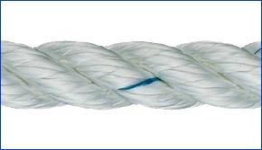 Liros Polyestertauwerk , 8 mm , Bruchlast : 1400 daN