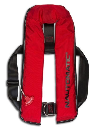 Kadematic Nautomatic 150 AL 150 N mit Harness ( Lifebelt ) rot