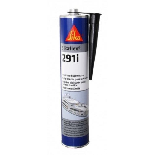 Sikaflex 291i , 300 ml Kartusche, Marine - Dichtmasse , weiß