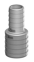 TruDesign Reduzierstücke aus Kompositkunststoff , 38 mm auf 25 mm