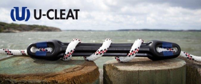 U-Cleat Anlegefeder , 329 mm , für 10 bis 12 mm Tauwerk
