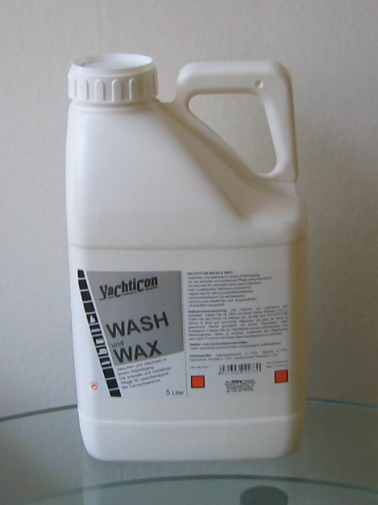 Yachticon Wash und Wax, 5 ltr. kanister