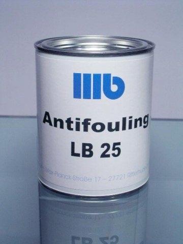 Wohlert LB 25 Antifouling , 2,5 ltr., schwarz