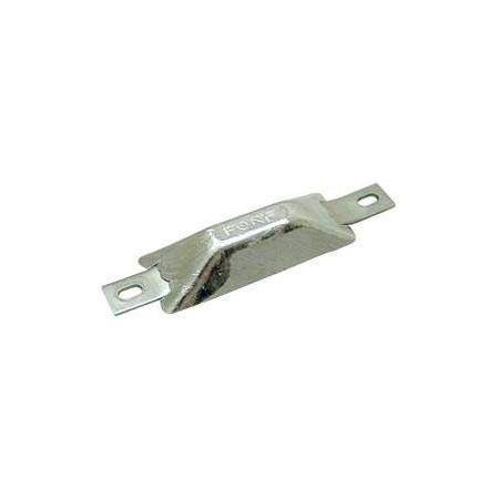 Rumpf-Zinkanode 245g rechteckig flach 110x35x15mm
