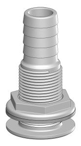 Trudesign Borddurchbruch mit Schlauchanschluss  19 mm