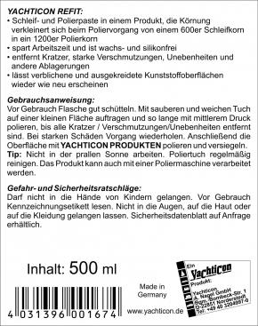 Yachticon Refit Schleif - und Polierpaste , 500 ml