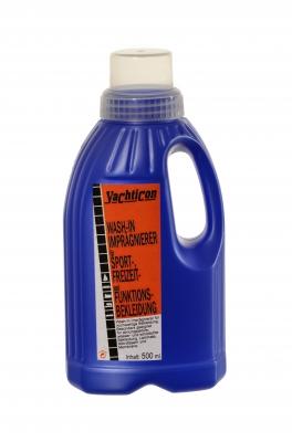 Yachticon Wash-In Imprägniermittel für Sport-, Freizeit- und Funktionsbekleidung , 500 ml