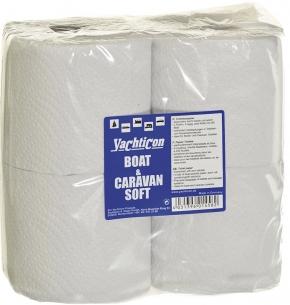 Yachticon Boat & Caravan Soft WC Papier , 4 Rollen