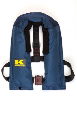 Kadematic 15 A Junior, blau , 150 N Kinderrettungsweste