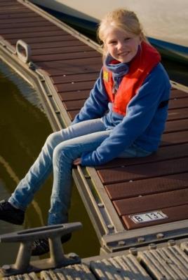 Kadematic 15 A Junior, rot, Kinderrettungsweste mit Schrittgurt