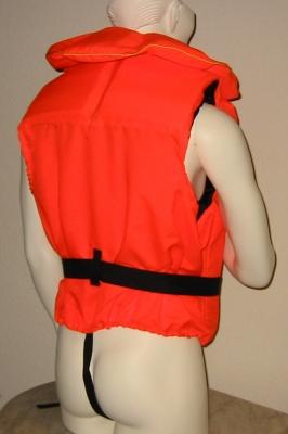 Navyline Rettungsweste 100 N , für 90 kg + Körpergewicht