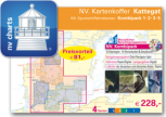 NV Verlag , Kartenkoffer Kattegat , Ausgabe 2018 als Atlas
