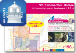 NV Verlag , Kartenkoffer Ostsee , Ausgabe 2018 als Atlas
